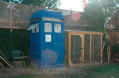 How much would you pay for a T.A.R.D.I.S. chicken coop? (From ...