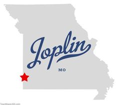 joplin mo | Map of Joplin Missouri MO