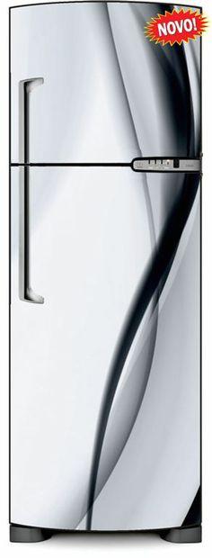 Envelopamento de Geladeira Linha Preta e Branca - ENV0174