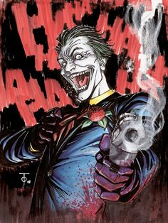 The Joker by Marcus To