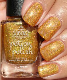Potion Polish Marvelous Maple // @kelliegonzoblog
