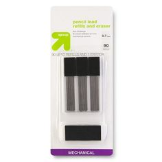 up & up™ .7MM Mechanical Pencil Lead Refill - 3 pk, 30 ct each