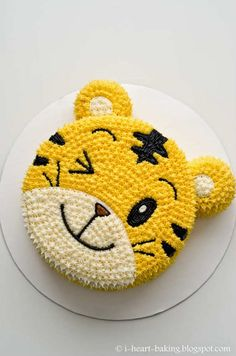 Brighten up your celebrations with this awesome tiger cake - 10 Adorable Animal Cakes Part 2 | Tinyme Blog