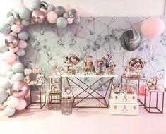 Birthday balloons adult baby shower Ideas for 2019 Bridal Shower Decorations, Balloon Decorations, Birthday Party Decorations, Birthday Parties, Wedding Decorations, Balloon Ideas, Themed Parties, 16th Birthday, Birthday Ideas