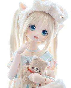 [Dollfie] #32 Anime Dolls, Blythe Dolls, Barbie Dolls, Pretty Dolls, Beautiful Dolls, Anime Chibi, Kawaii Anime, Cute Baby Dolls, Kawaii Doll