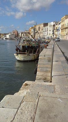Porto di Mazara del Vallo Italy