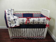 Baby Bedding Crib Set Sebastian Nautical