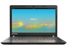 "Notebook Lenovo Ideapad 100 Intel Dual Core - 2GB 500GB LED 14"" Linux"