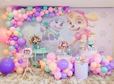 Bewitching Princess Birthday Party Ideas for Busy Moms Paw Patrol Party Decorations, Birthday Decorations, 2nd Birthday Parties, Girl Birthday, Princess Birthday, Sky Paw Patrol, Paw Patrol Birthday Theme, Party Ideas, Baby
