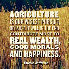 Go American Farmers!