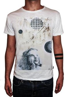 HERMAN EPIS - CHILD - T-Artist Collection - Author T-Shirt #doubleexcess #hermanepis #artist #art #artfashion #fashion #style #workofart #tshirt #tee #menstshirt #mensclothing #menswear #mensfashion #alternativetshirt #alternative #elegant #madeinprato #madeinitaly