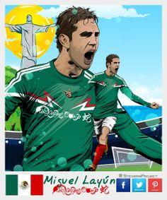 Layun #StickersProject V27 » #Football #Panini #Estampas #Soccer #Brasil2014 http://www.akyanyme.com/index.php/es/portafolio/fanart/brazil-2014/stickers-brazil-2014/295-sticker-brazil-2014-v27