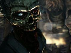 The Walking Dead zombie wallpaper