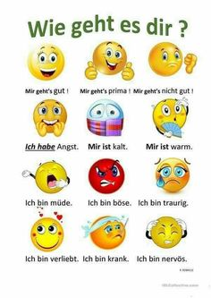 How are you ? - - - How are you ? – Almanca öğrenme How are you ? Italian Grammar, German Grammar, German Words, Study German, German English, Learn German, Learning Languages Tips, Foreign Languages, German Language Learning