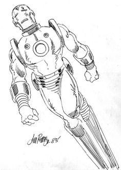 Iron Man by John Romita Jr. *