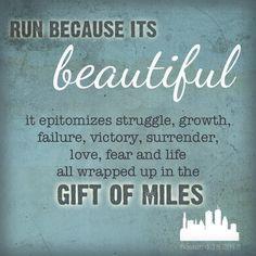 Good reason to run