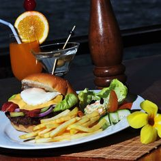 EPR Cheeseburger with fries! #food #Burger #Delicious #Filling
