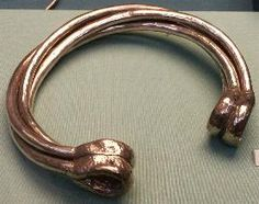 Brigantes Nation Celtic Iron Age Finds.  Torc from East Anglia.