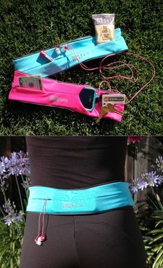 Flipbelt! Holds your phone, keys and more while you exercise! No more armband tan-lines.