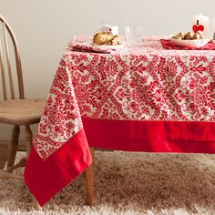 DesignRulz - Best recommendations for architecture, product design, interior and outdoor design Scandi Christmas, Elegant Christmas, Merry Christmas, Dining Table Cloth, Table Linens, Zara Home, Christmas Table Cloth, Christmas Decorations, Scandi Style