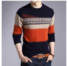 Mens Hottest Fashion, Mens Fashion, Pullover Sweaters, Men Sweater, Fleece Patterns, Baby Cardigan Knitting Pattern, Face Photography, Mode Masculine, Cashmere Wool
