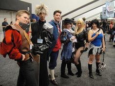 WonderCon 2011 - Final Fantasy costumes by Pop Culture Geek, via Flickr