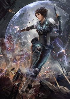 spassundspiele:  Battle of Steel –sci-fi concept by Zack Cy