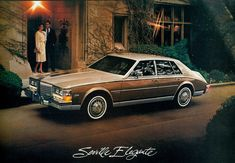 1983 Cadillac Seville Elegante - The Pure 80'tis Icon (but you have to own a small oil rig too :)
