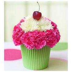 Cupcake In Bloom For Summer