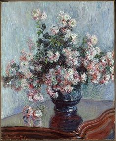 Crisantemi di Claude Monet