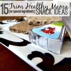 Are you looking for more information about following the Trim Healthy Mama  plan?  You've come to the right place!  I have some great ideas - for snacks (and for breakfast, lunch & dinner!)  that don't require any specialty ingredients.  Isn't that the worst part of starting a new diet -