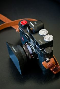 Leica M4P with Voigtlander 21mm f4 lens and viewfinder, Voigtlander VCII meter
