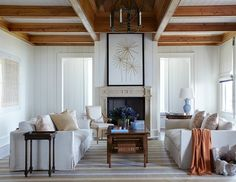 Living room from Suzanne Kasler's new book Timeless Style
