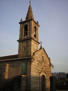 Pontevedra - Iglesia de Parderrubias, en el municipio de Salceda de Caselas.