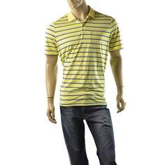 RLX Golf Ralph Lauren Polo Shirt Mens Short Sleeve T Shirts Size L NEW Yellow #RLXRalphLauren #PoloRugby