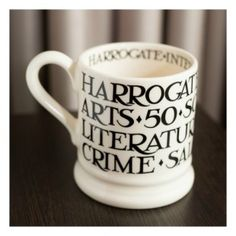 50th Anniversary Commemorative Mug #Emma Bridgewater #HarrogateFest