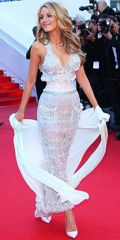 Blake Lively in Chanel Couture
