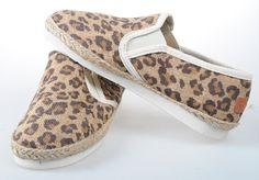 Toms Classic Men Shoes Brown leopard grain