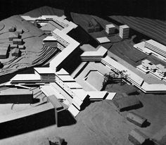 CANDILIS, JOSIC, AND WOODS, PROJECT FOR SEVRES, FRANCE, 1966