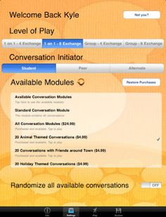 Conversation Builder App Review  -  Pinned by @PediaStaff – Please Visit http://ht.ly/63sNt for all our pediatric therapy pins