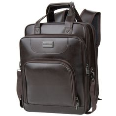 Brown Backpack Laptop Bag for Apple MacBook Pro with  Retina display 13'' 13.3'' #VanGoddy