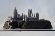 3D Printed Hogwarts Model