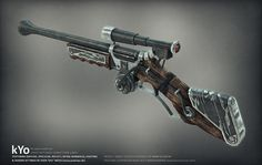 A steam rifle can typically fire 100-300 rounds before replacing steam cartridges, depending on the potency of the weapon. Description from iwakuroleplay.com. I searched for this on bing.com/images