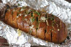 Chleb rwany z grilla