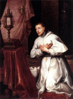 """St. Norbert - His life was devoted to the world & its pleasures. But an accident when we was out riding, made a question to God:""""Lord what you want me to do?"""". In response he heard in his heart: """"Turn from evil and do good. Seek and pursue it"""".And that turned his life become what God want him doing, at he end his life he became an archbishops. Feast day June 6"""