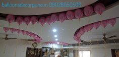 Helium Gas Balloons For Ceiling Decoration Helium Gas, Ceiling Decor, Balloons, Neon Signs, Decoration, Decor, Globes, Balloon, Decorations