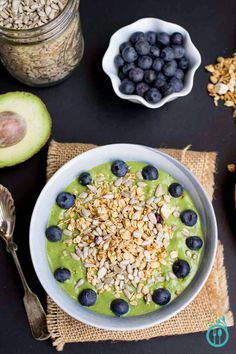 The Ultimate Green Smoothie Bowl packed with superpower ingredients to keep you fueled up and energized for whatever your day may bring!