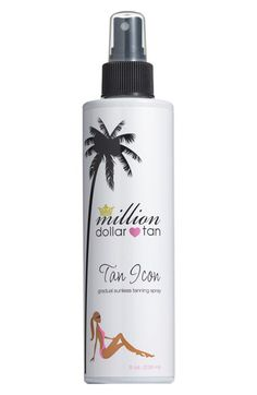 Tan Icon Self Tanner by Million Dollar Tan- 8 oz- A Natural, Radiant Tan Without the Sun Million Dollar Tan, Tanning Solution, Beauty Hacks, Beauty Secrets, Diy Beauty, Beauty Tips, Skin Treatments, As You Like, Bronzer