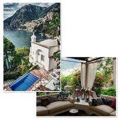 3 adresses exceptionnelles face à la mer en Italie Villa Tre Ville
