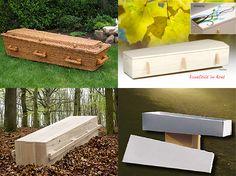 linksboven: korfkist, rechtsboven: ecokist, linksonder: ecokist, rechtsonder: dooskist